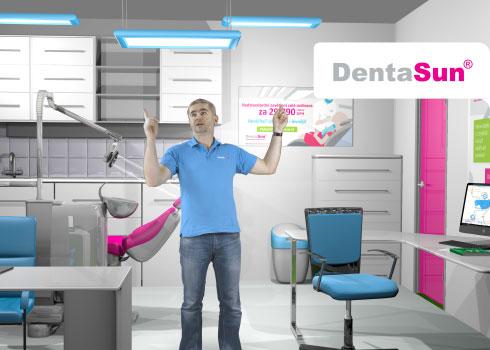 DentaSun – Sleva na vyvážené osvětlení celého provozu