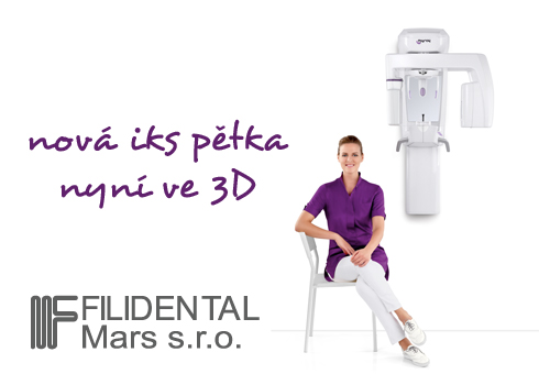 """Nová """"iks pětka"""" – nejmenší 2D/3D OPG na světě"""