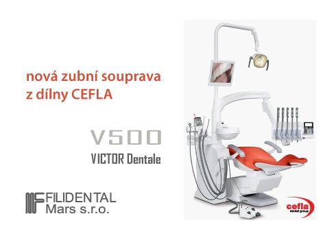V500 – nová zubní souprava z dílny CEFLA