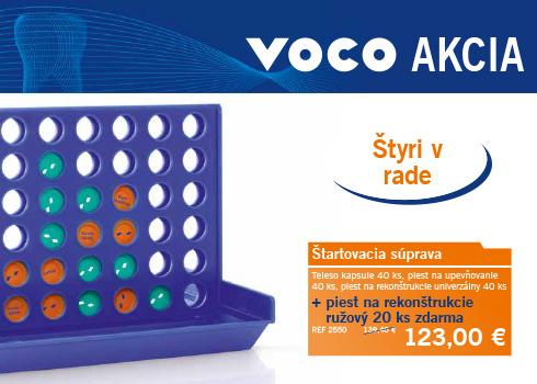 Jarné / letné akcie firmy VOCO pre Slovensko
