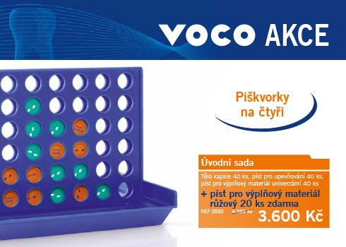 Jarní / letní akce firmy VOCO pro Česko