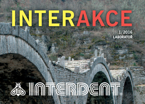 INTERDENT – INTERAKCE LABORATOŘ 1/2016
