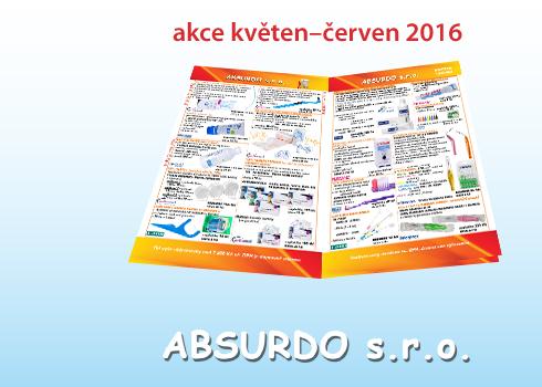 ABSURDO – akční nabídky květen/červen 2016