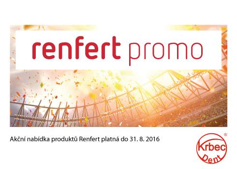 Akční nabídka produktů Renfert