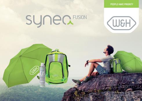 Deštník, batoh & F1 olej ZDARMA k W&H SYNEA FUSION nástrojům