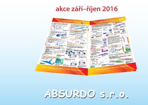 ABSURDO – akční nabídky září/říjen 2016