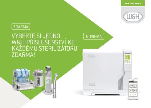 W&H sterilizátory za nejlepší cenu