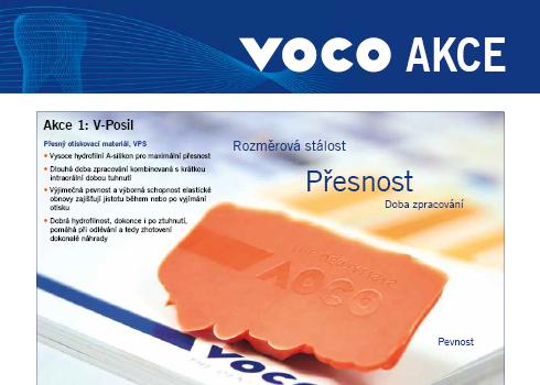 Jarní / letní akce firmy VOCO