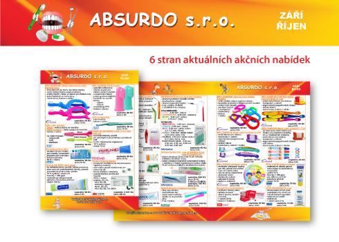 ABSURDO – akční nabídky září/říjen 2017