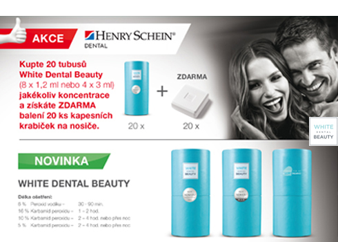White Dental Beauty od Henry Schein – VÝHODNĚ