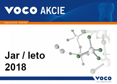 Jarné / letné akcie firmy VOCO