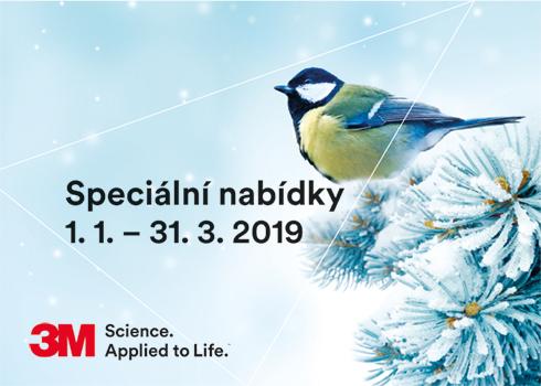Speciální nabídky 1. 1. – 31. 3. 2019