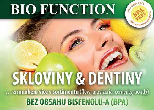 Bio Function sortiment bez BPA