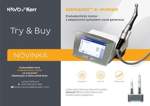 Try & Buy: elements TM e-motion