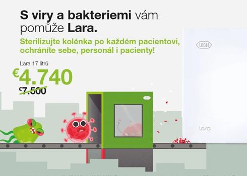 S viry i bakteriemi vám pomůže Lara
