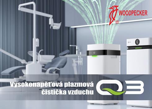 Vysokonapěťová plazmová čistička vzduchu Woodpacker Q3