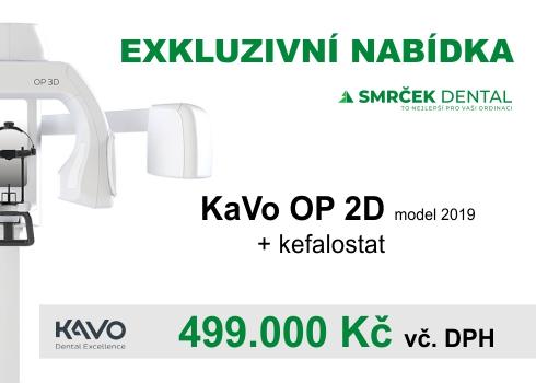 Exkluzivní nabídka 2 ks starších přístrojů KaVo OP 2D s Kefalostatem