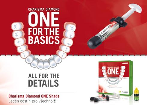 Charisma Diamond ONE Kit + Charisma Opal Flow ZDARMA